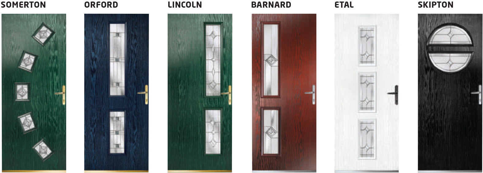 Contemporary Composite Safeguard Doors