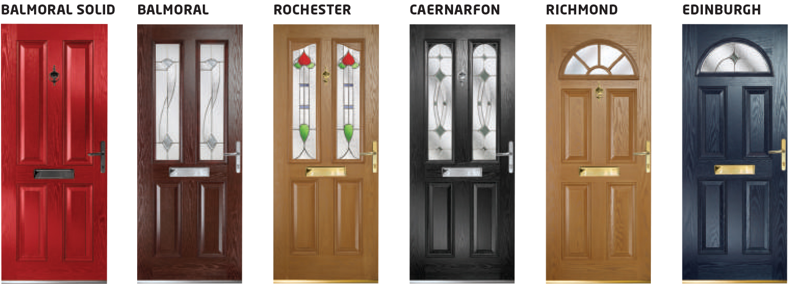 Traditional Composite Safeguard Doors
